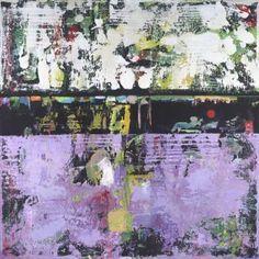 """Saatchi Art Artist Shawn Mcnulty; Painting, """"Tusk - Purple Abstract Art"""" #art"""