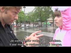 French Everyday Conversation with French subtitles - YouTube Funny Clips, French Language, Learn French, Conversation, Politics, Learning, Youtube, French People, Learn To Speak French