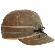 536e3fa0141 Stormy Kromer Waxed Cotton Cap