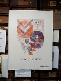 The Occasional Print Club 1 #letterpress #inspiration #graphicdesign