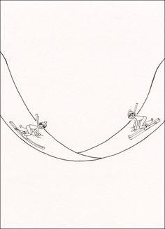 Disegni umoristici originali di Alberto Locatelli.