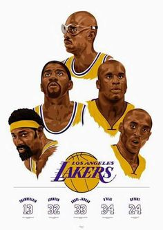 Lakers Greats Past And Present