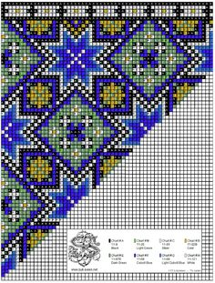 Perlesøm på stramei, bunad. – Vevstua Bull-Sveen Bargello Quilts, Sampler Quilts, Cross Stitching, Cross Stitch Embroidery, Cross Stitch Patterns, Beading Patterns, Embroidery Patterns, Needlepoint Pillows, Tapestry Crochet