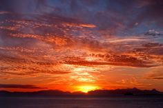 Duntulm Bay sunset, Isle of Skye by Corinne Mills
