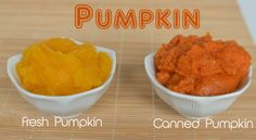 DIY Pumpkin Puree - an easy way to make your own, and forget the processed canned stuff!! Tastes a million times better and is great for those pumpkin pies or pumpkin breads! Easy DIY tutorial!