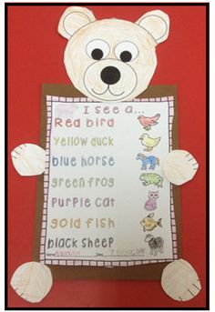 Brown Bear, Brown Bear, What Do You See? Literacy & Math Activities for Bill Martin Jrs Book