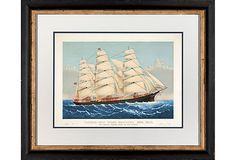 """Clipper ship """"Three Brothers"""""""