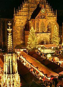 Christkindlmarkt Nürnberg Germany's most famous Christmas market:  The Nuremberg Christmas Market.