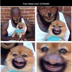 Face Swap Level: EXTREME
