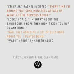Percy Jackson. Giggle... jealousy