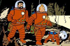 tintin on a marche sur la lune - Google Search
