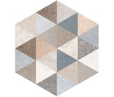 Rift by VIVES Cerámica | Hexagono Bushmills Multicolor | ..