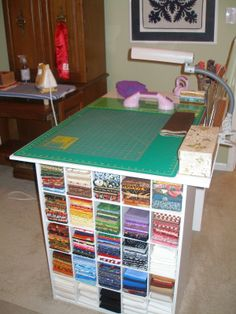 my cutting table for my future craft room in my future house ^.^