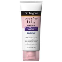 These Dermatologist-Approved Beauty Products Are Super-Safe to Use When You're Pregnant - Neutrogena Pure and Free Baby Sunscreen from InStyle.com