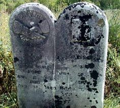 Tombstone for James Elihu Fraley 25 Jan 1815 to 7 March 1893 AND Jemima Waggoner 15 April 1820 to 22 May 1889.
