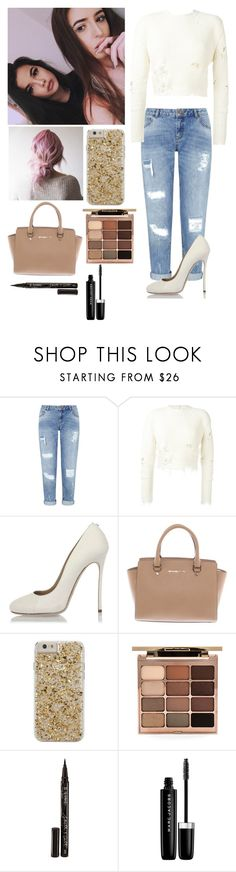"""Hanging out with arzaylea"" by joelene-garcia ❤ liked on Polyvore featuring Miss Selfridge, adidas Originals, Dsquared2, Michael Kors, Case-Mate, Stila, Smith & Cult and Marc Jacobs"