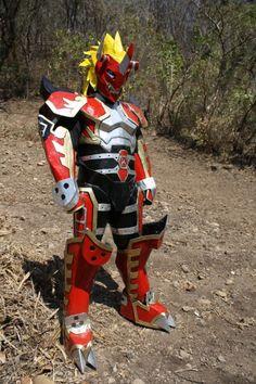 Hairo Kabrera: Agunimon from Digimon Frontier in Otaku House Cosplay Idol 2012