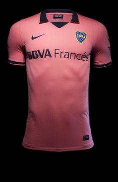 Baseado em lendas, Boca Juniors lança uniformes com segunda camisa rosa Guia do Boleiro