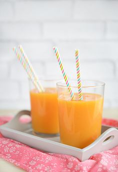 Jus d'agrumes, pêches et nectarines - Keimling