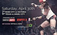 Oh no big deal. Just ESPN.  Make sure you tune in next weekend! #ACDG #rollerderby #espn #WFTDA #BigO by angelcityderby