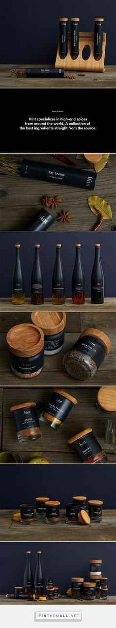 Hint high end spices by Mark John Mangayayam. Source: Daily Package Design Inspiration. Pin curated by #SFIelds99 #packaging #design #inspiration #ideas #branding #product #spices #innovation #structural