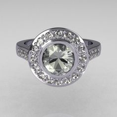 Tiffany Brilliant Style 950 Platinum 10 Carat Round by artmasters, $2,499.00