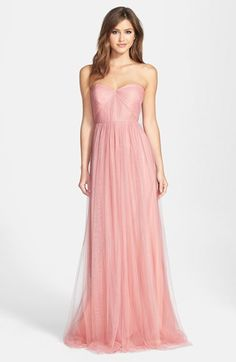Jenny Yoo 'Annabelle' Convertible Tulle Column Dress (Regular & Plus Size) | Nordstrom