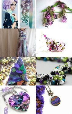 Pretty things in purple