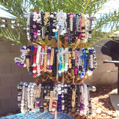 Custom Made Blinged Bracelets