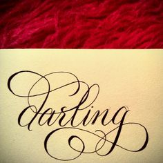 ".tattoo font..love the amount of ""swirl"""