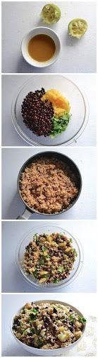 Pineapple Black Bean Salad Recipe