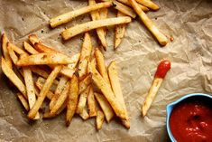 homemade french fries...i need me a deep fryer..