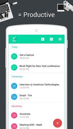 .Do - Task List & To-do Lists – Mobile app by Americos Tech