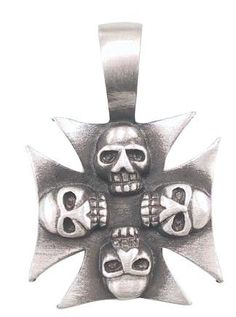 Iron Cross Skulls Pewter Pendant Necklace Dan Jewelers. $13.57. Good value. Does not tarnish. Dan Jewelers has tens of thousands of positive feedbacks across the internet.. Satisfaction guaranteed.. Hypoallergenic. Save 32% Off!