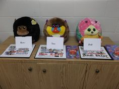 More stuff animals I use for the Jobs Club in 2013. Took a different approach in 2014.