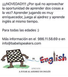 Babel ajedrez&inglés