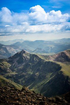 View on way up Ben Nevis