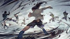 """ by Hanyijie This artwork is licensed under CC-BY and may be shared with credit. Anime Naruto, Naruto Uzumaki, Manga Anime, Neji And Tenten, Naruto Art, Itachi, Boruto, Anime Guys, Manga Girl"