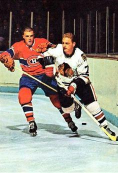 Jean-Guy Talbot - Montreal, Bobby Hull - Chicago