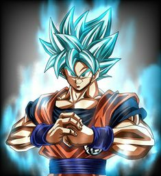 GokuSSJ Blue Dragon Ball Z, 7th Dragon, Goku And Bulma, Kid Goku, Goku Transformations, Pokemon, Reference Images, Picture Boards, Fnaf