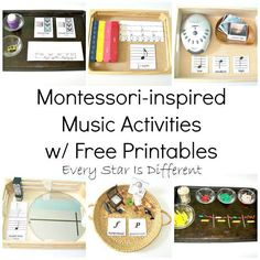 Every Star Is Different: Montessori-inspired Music Activities