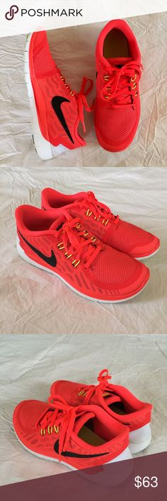 Nike free 5.0 Size 5Y, fits women's size US 6.5. Never worn outdoor. Perfect condition. Nike Shoes Athletic Shoes