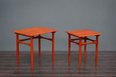 Vintage Retro Mid Century Danish Nest Of Two Teak Coffee/Side Tables | Vinterior   #midcentury #modern