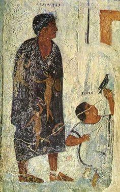 Image of Satis. From Vulci, François Tomb, Rome, Torlonia Museum