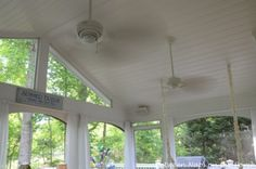 Exterior Grade Ceiling Fans for Screened-in Porch