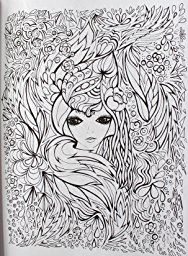 Fanciful Faces Coloring Book (Creative Haven): Miryam Adatto, Creative Haven: 9780486779355: Amazon.com: Books