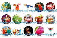 Cocktails Bottle Cap Images