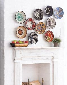 Wall Baskets Decor gravityhome does such an amazing job of grouping these african