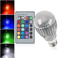 E27 9W IR Remote Control 16 Color Change RGB LED Ball Bulbs 85-256V  Worldwide delivery. Original best quality product for 70% of it's real price. Buying this product is extra profitable, because we have good production source. 1 day products dispatch from warehouse. Fast & reliable...