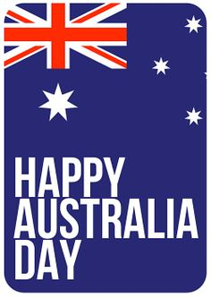 Australia Day Poster - A3 Code: DPOZD £1.95
